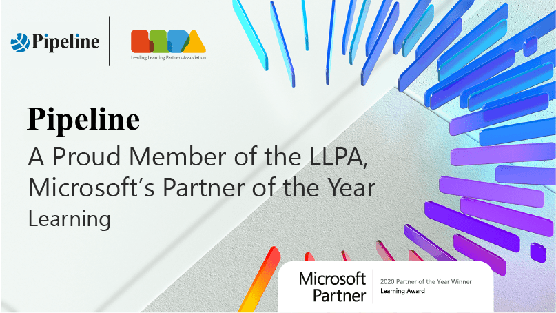 Pipeline LLPA Microsoft Learning Partner of the year