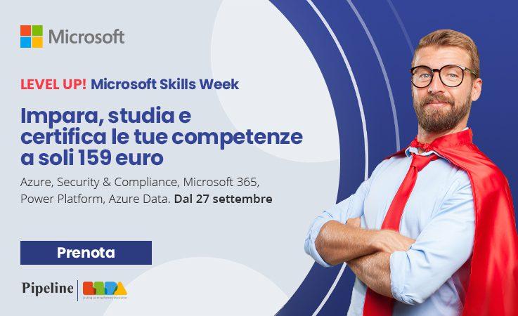 Microsoft Skills Week LevelUP!