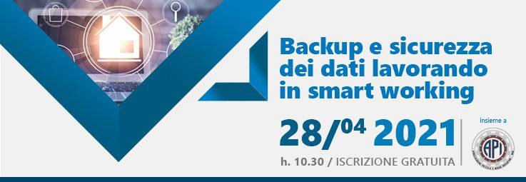 Backup dei dati in Smart Working