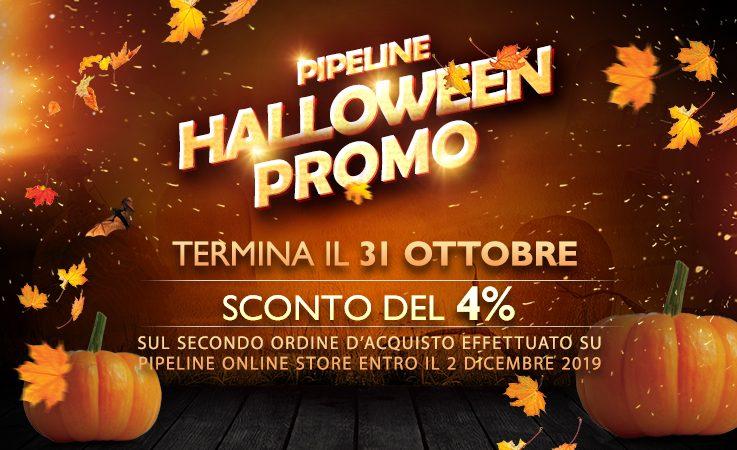 Pipeline Online Store – Ad Halloween evoca lo spirito dello sconto!