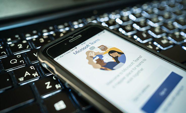 Microsoft-Teams - lavorare in team online
