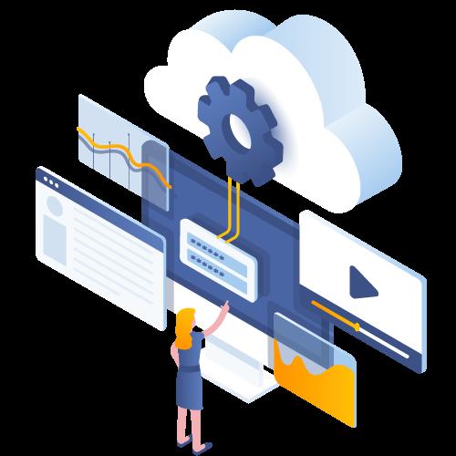 lavorare in cloud in con l'assistenza garantita