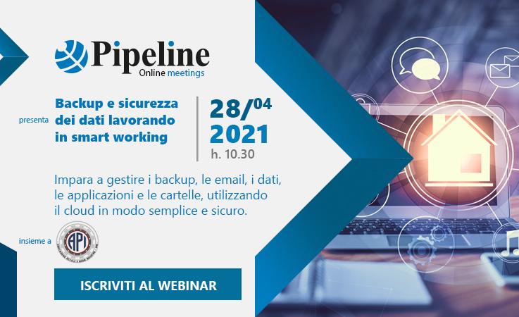 Pipeline online meetings terza edizione